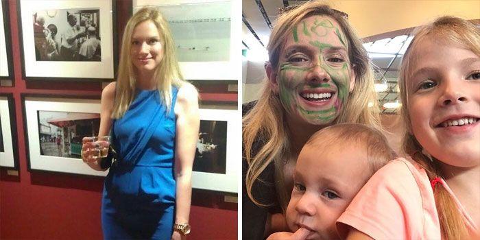 46 fotos hilárias de antes e depois de como a vida muda depois de ter filhos 17