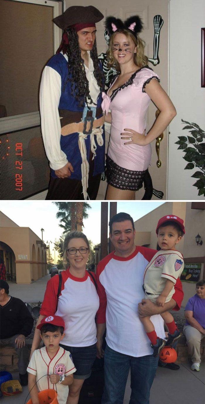 46 fotos hilárias de antes e depois de como a vida muda depois de ter filhos 43
