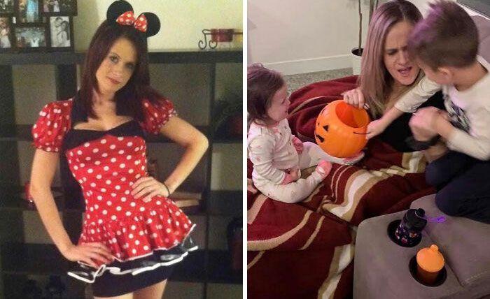 46 fotos hilárias de antes e depois de como a vida muda depois de ter filhos 44