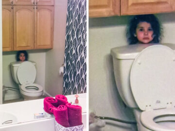 17 fotos que provam que as crianças vivem em seu próprio mundo 35