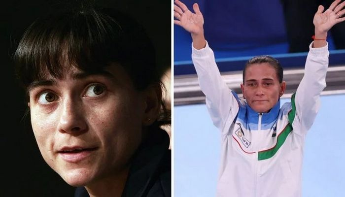 História da ginasta Oksana Chusovitina é linda 2