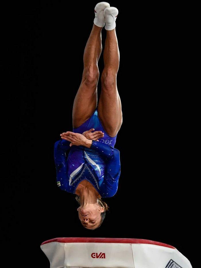 História da ginasta Oksana Chusovitina é linda 6