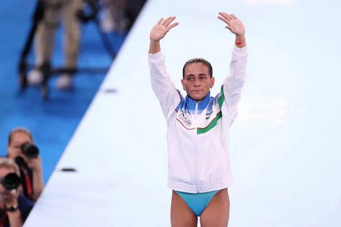 História da ginasta Oksana Chusovitina é linda 7