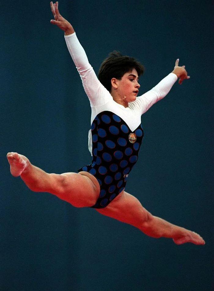 História da ginasta Oksana Chusovitina é linda 8