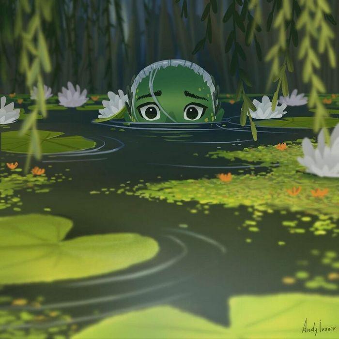 História sobre sereia verde para quem gostam de emoções fortes 2