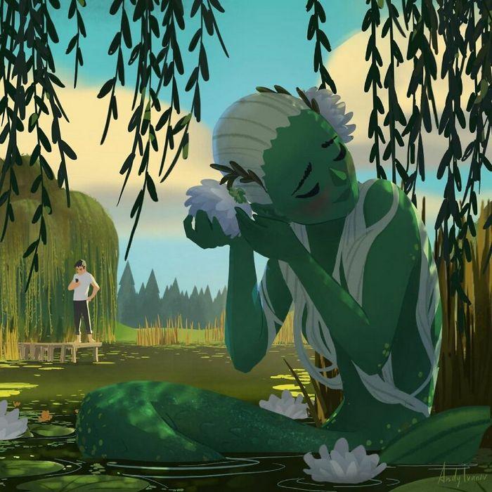 História sobre sereia verde para quem gostam de emoções fortes 3