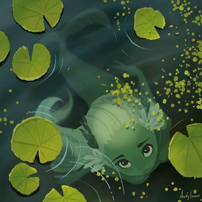 História sobre sereia verde para quem gostam de emoções fortes 4