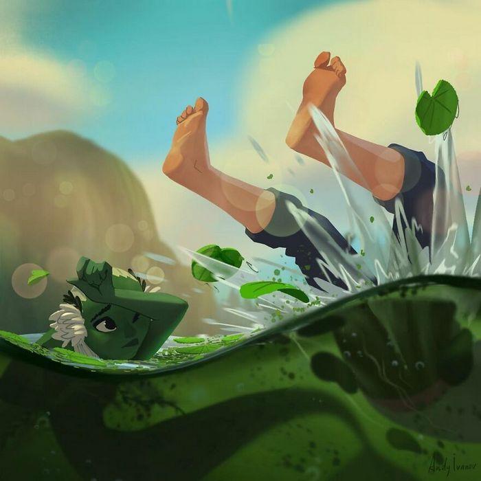 História sobre sereia verde para quem gostam de emoções fortes 6