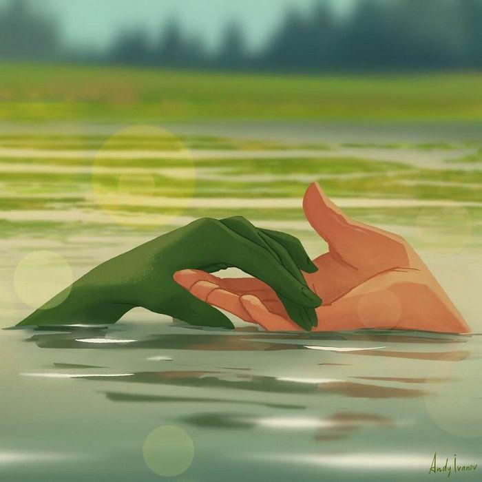 História sobre sereia verde para quem gostam de emoções fortes 8