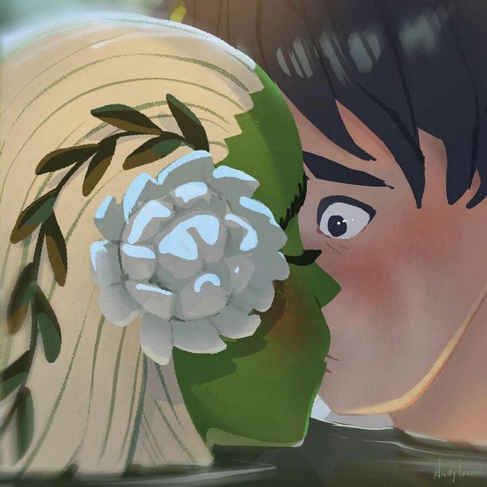 História sobre sereia verde para quem gostam de emoções fortes 10