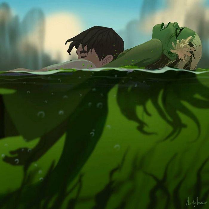 História sobre sereia verde para quem gostam de emoções fortes 13