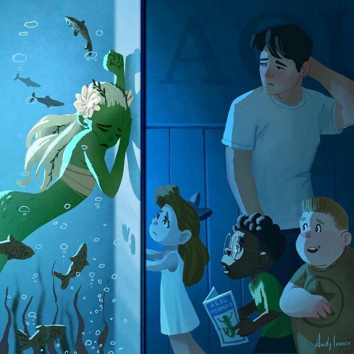 História sobre sereia verde para quem gostam de emoções fortes 18