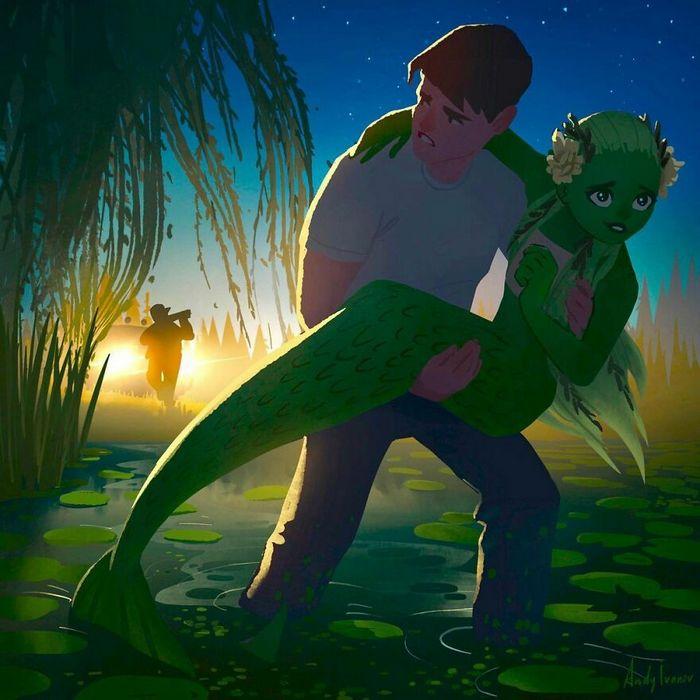 História sobre sereia verde para quem gostam de emoções fortes 20