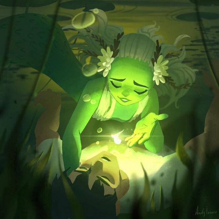 História sobre sereia verde para quem gostam de emoções fortes 22