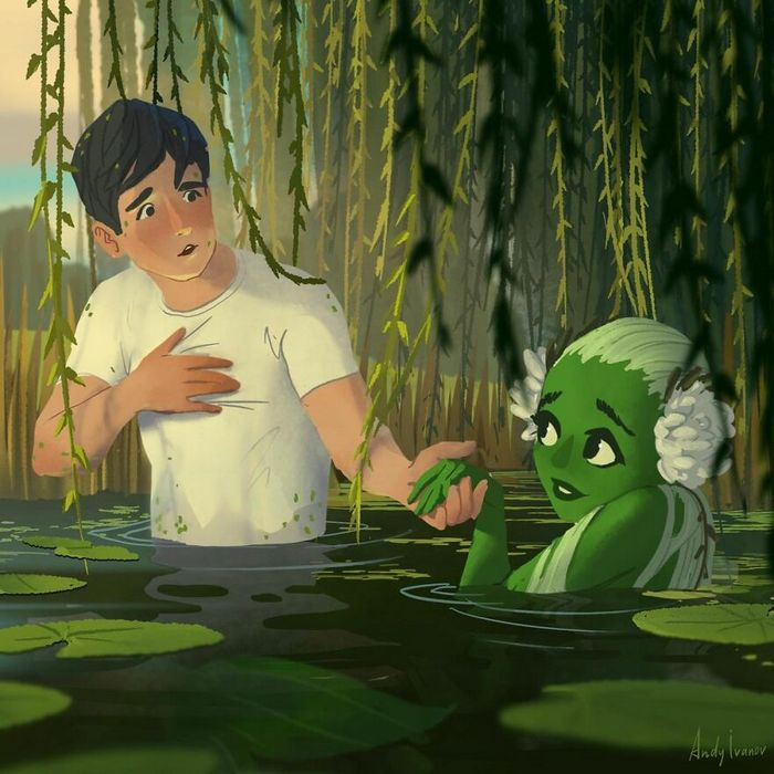 História sobre sereia verde para quem gostam de emoções fortes 26