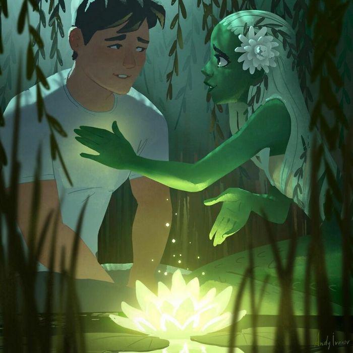 História sobre sereia verde para quem gostam de emoções fortes 29