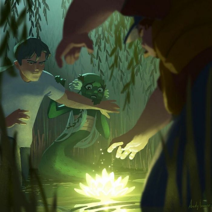 História sobre sereia verde para quem gostam de emoções fortes 31