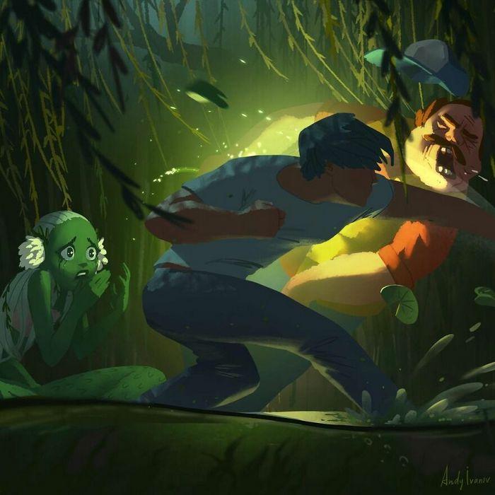 História sobre sereia verde para quem gostam de emoções fortes 32