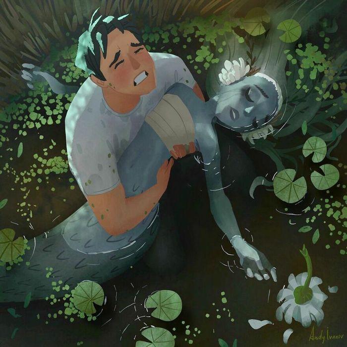 História sobre sereia verde para quem gostam de emoções fortes 34