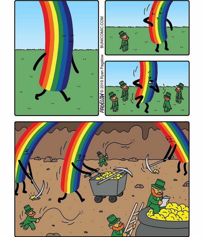 29 histórias em quadrinhos do Buni que são engraçadas, tristes e distorcidas ao mesmo tempo 3
