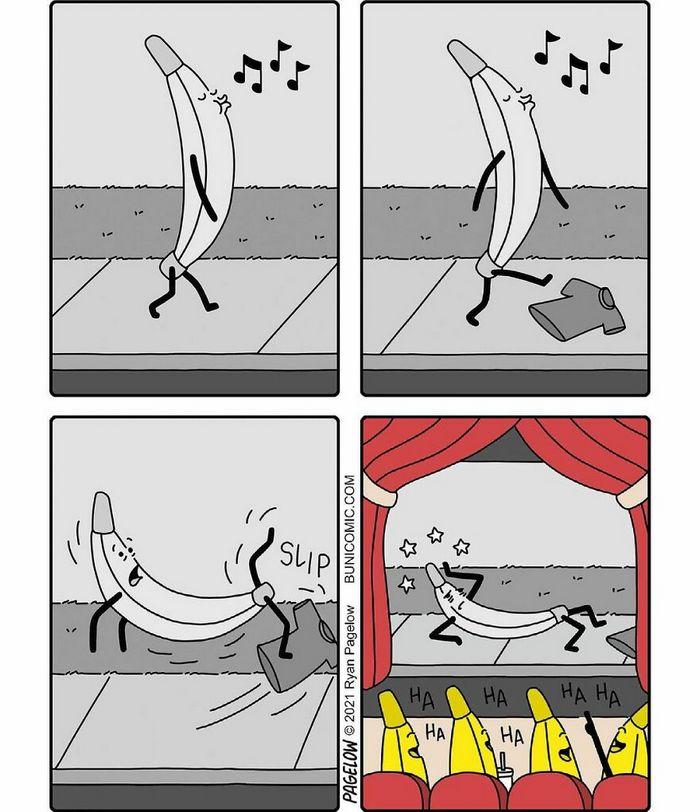 29 histórias em quadrinhos do Buni que são engraçadas, tristes e distorcidas ao mesmo tempo 6