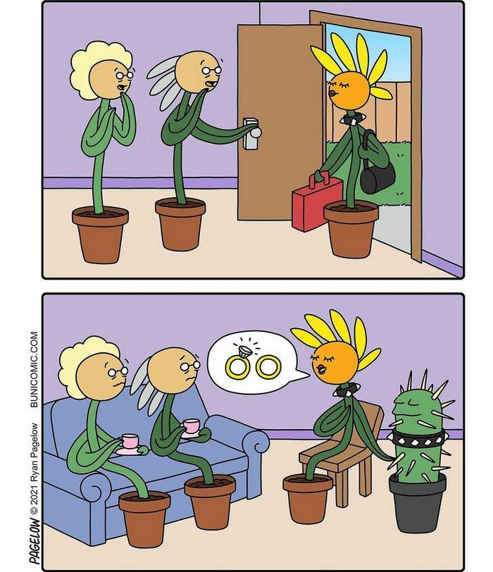 29 histórias em quadrinhos do Buni que são engraçadas, tristes e distorcidas ao mesmo tempo 14
