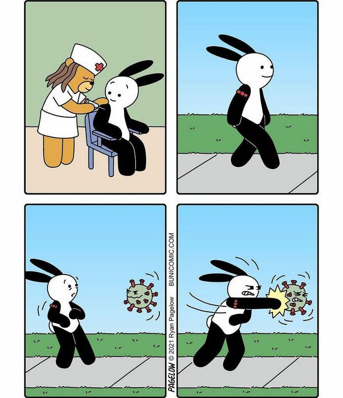 29 histórias em quadrinhos do Buni que são engraçadas, tristes e distorcidas ao mesmo tempo 15