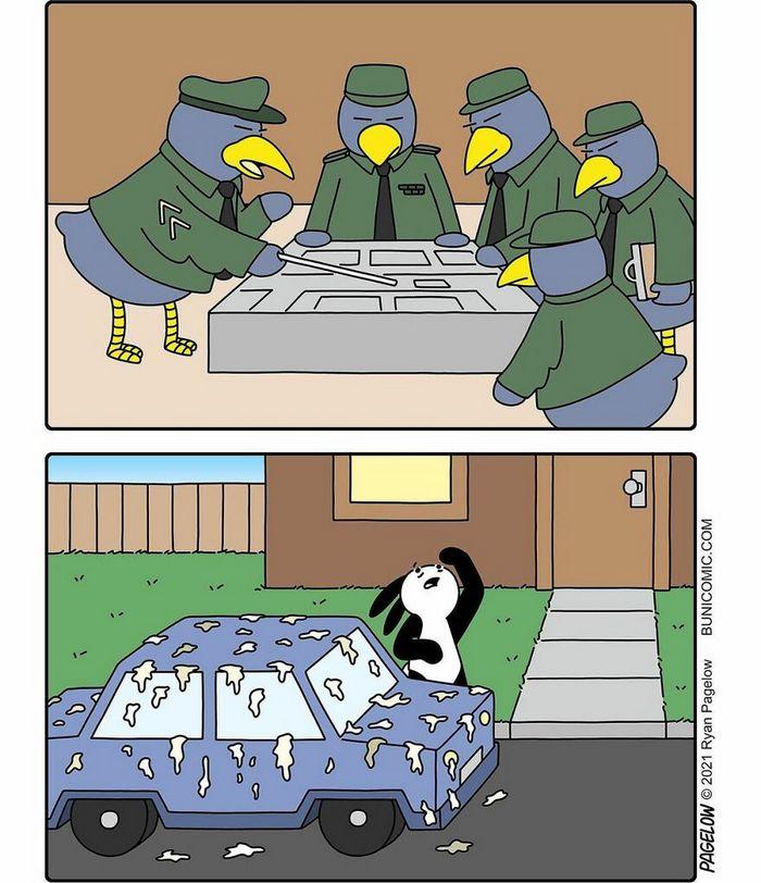 29 histórias em quadrinhos do Buni que são engraçadas, tristes e distorcidas ao mesmo tempo 17