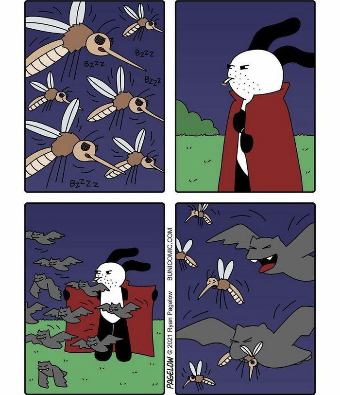29 histórias em quadrinhos do Buni que são engraçadas, tristes e distorcidas ao mesmo tempo 23