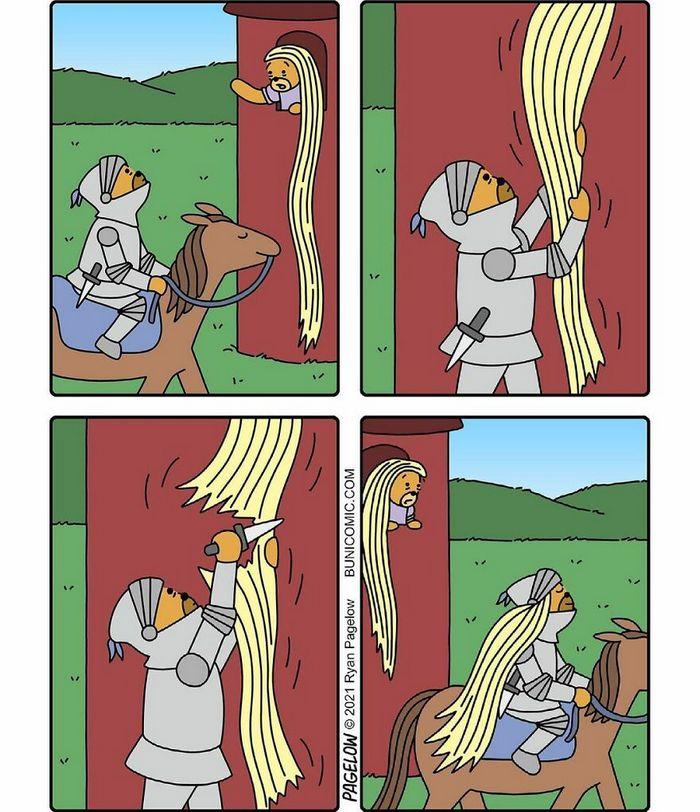 29 histórias em quadrinhos do Buni que são engraçadas, tristes e distorcidas ao mesmo tempo 25