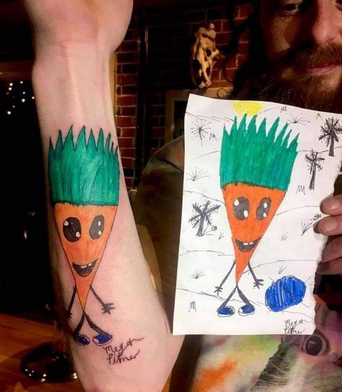 17 histórias engraçadas e emocionantes por trás de tatuagens 13
