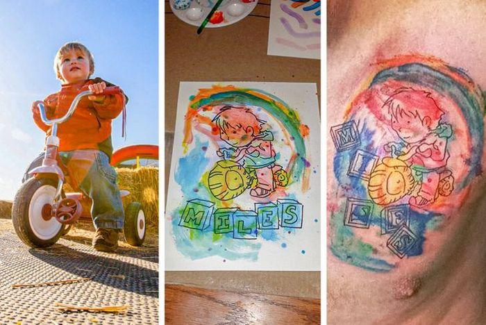 17 histórias engraçadas e emocionantes por trás de tatuagens 14