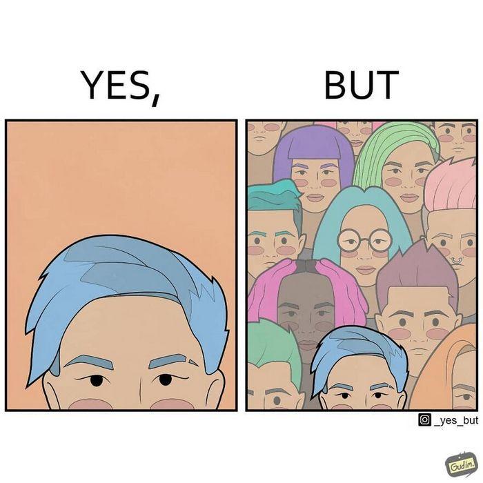 O artista desenha uma série de quadrinhos sarcásticos que dizem muito sobre a sociedade (24 fotos) 4