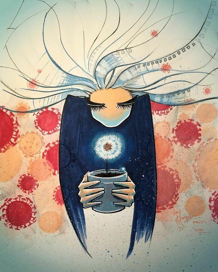 42 obras de arte tocantes da primeira artista de rua feminina do Afeganistão, Shamsia Hassani 25