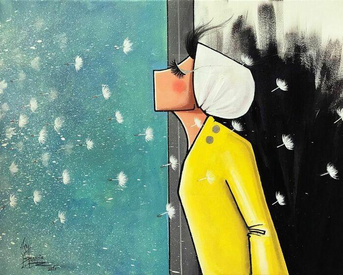 42 obras de arte tocantes da primeira artista de rua feminina do Afeganistão, Shamsia Hassani 29
