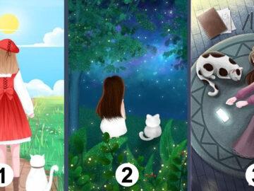 Qual desses cenários você gostaria de estar? 5