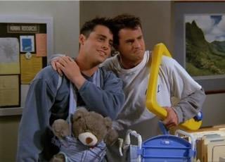 Que amizade das séries de TV você prefere? 12