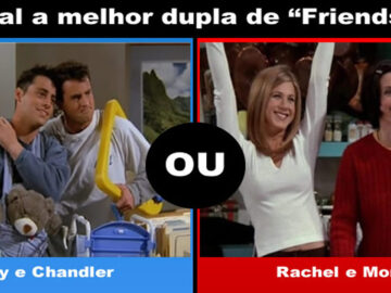 Que amizade das séries de TV você prefere? 5