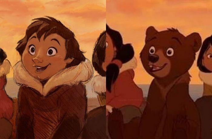 24 versões humanas de personagens famosos de desenhos animados 9