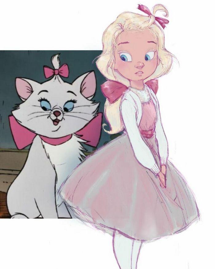 24 versões humanas de personagens famosos de desenhos animados 13