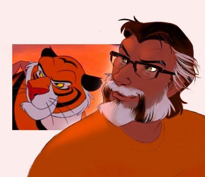 24 versões humanas de personagens famosos de desenhos animados 25