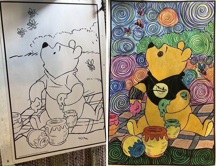 47 vezes que livros de colorir infantis foram corrompidos por adultos 2