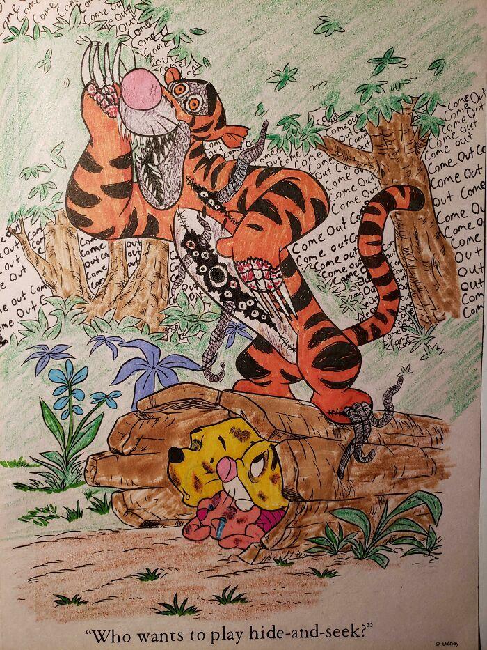 47 vezes que livros de colorir infantis foram corrompidos por adultos 4