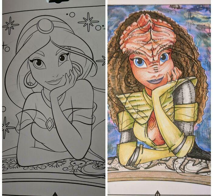 47 vezes que livros de colorir infantis foram corrompidos por adultos 16