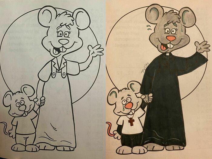 47 vezes que livros de colorir infantis foram corrompidos por adultos 20