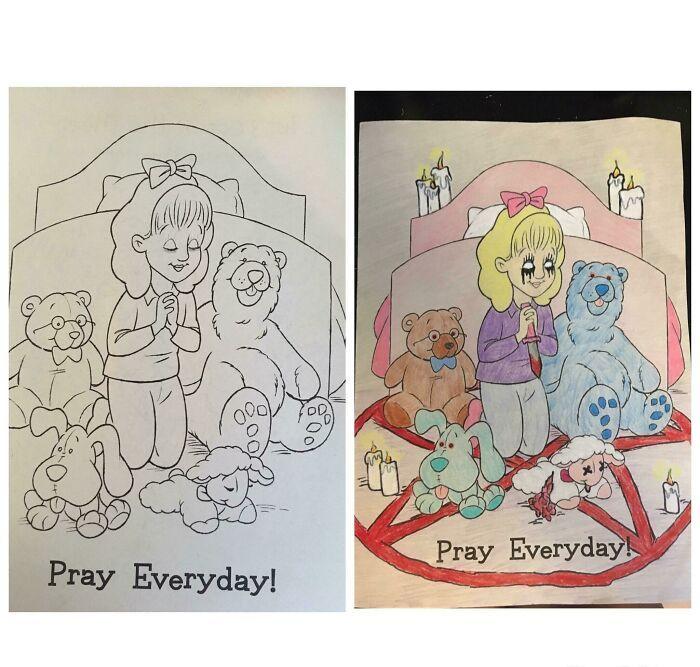 47 vezes que livros de colorir infantis foram corrompidos por adultos 25