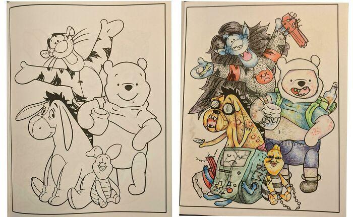 47 vezes que livros de colorir infantis foram corrompidos por adultos 29