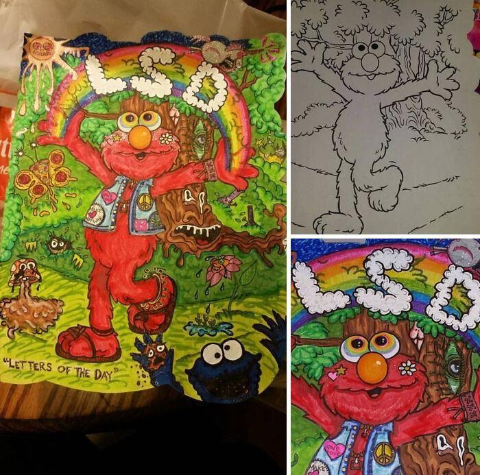 47 vezes que livros de colorir infantis foram corrompidos por adultos 36