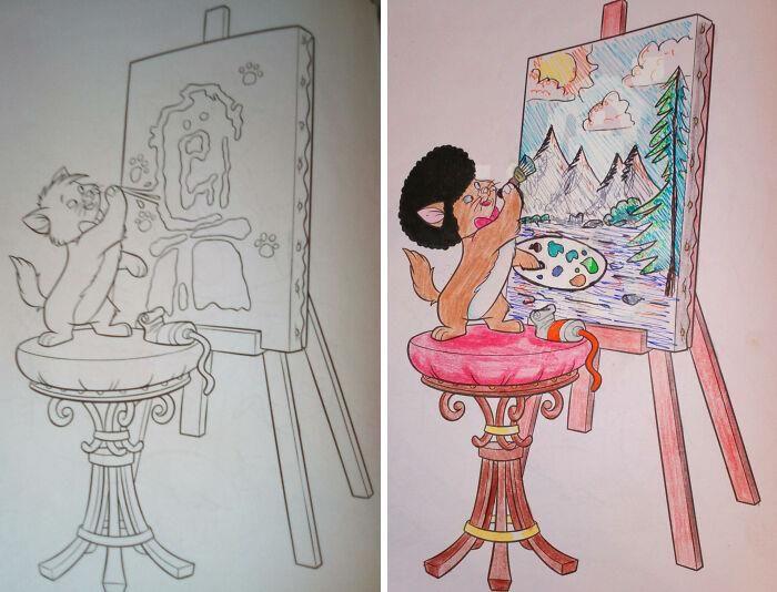 47 vezes que livros de colorir infantis foram corrompidos por adultos 39