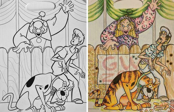 47 vezes que livros de colorir infantis foram corrompidos por adultos 40